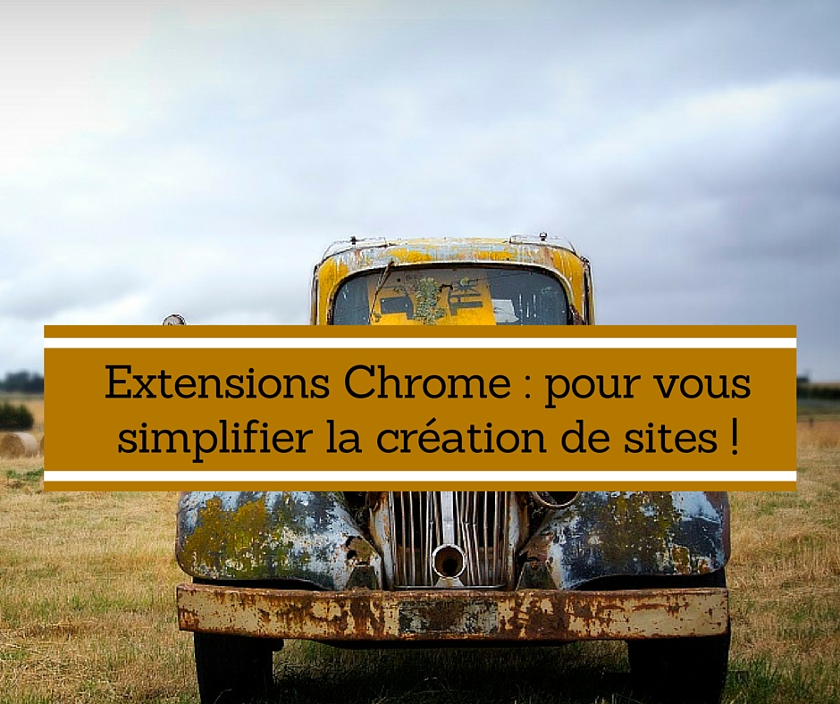 extensions Chrome